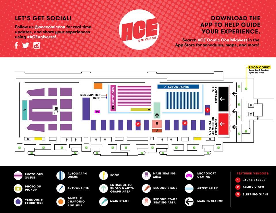 Ace Comic Con Midwest 2018 – Maëva's Mapa Mundi