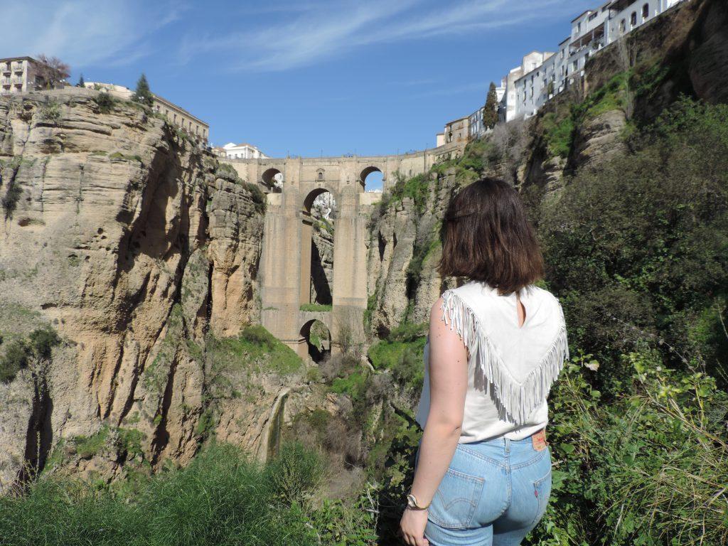 visite à Ronda pendant mon semestre ERASMUS plus